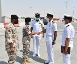 Qatari, Indian Naval Forces Conduct Maritime Exercise