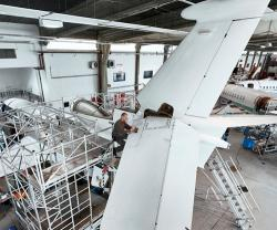 RUAG Completes First C-Check on Dassault Falcon 7X