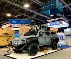 Roshel Unveils New Senator All-terrain Tactical Vehicle at AUSA