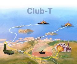 Russia Launches New Version of Cruise Missiles CLUB