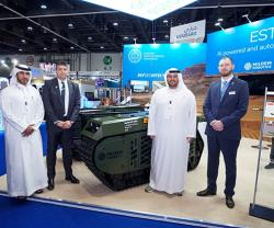 SABER, Milrem Robotics to Develop Unmanned Ground Systems for UAE