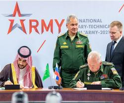 Saudi Arabia, Russia Sign Agreement for Cooperation in Military Field