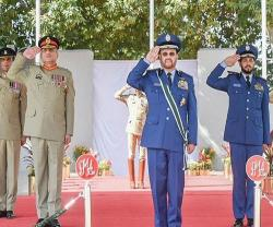 Saudi Chief of General Staff Attends Graduation of Pakistan Military Academy Cadets
