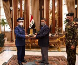 Saudi Chief of General Staff Meets Senior Iraqi Defense Officials