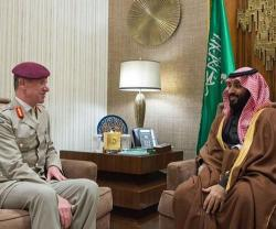 Saudi Crown Prince Meets British Defense Officials