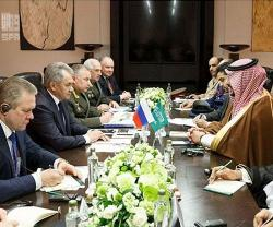 Saudi Deputy Minister of Defense Meets Russian Defense Minister