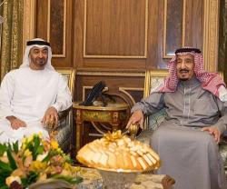 Saudi King, Abu Dhabi Crown Prince Discuss Regional Issues