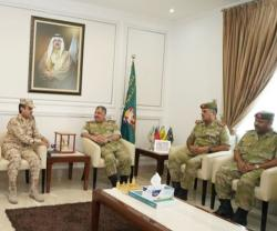 Saudi National Guard Ministry Delegation Visits Bahrain