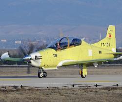 Turkey's HÜRKÜŞ-B Conducts First Test Flight