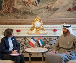 UAE, France Discuss Joint Military Cooperation