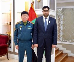 UAE, Kazakhstan Discuss Military Ties
