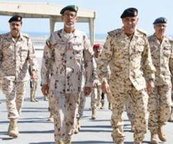 UAE Chief-of-Staff Attends Drill in Bahrain