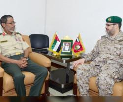 UAE Chief-of-Staff Receives New Peninsula Shield Force Commander