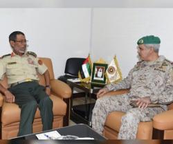UAE Chief-of-Staff Receives Peninsula Shield Force Commander