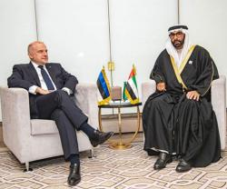 UAE Defense Minister Receives Estonian Counterpart