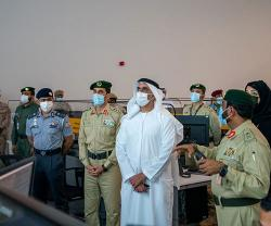 UAE Interior Minister Attends Strategic Training Drills at Expo 2020 Site