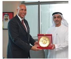 UAE Interior Minister Honors Lockheed Martin Executives