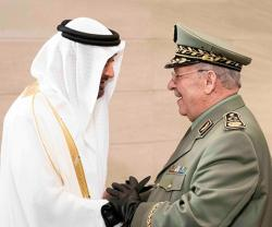 UAE Leaders Receive Algerian Chief-of-Staff
