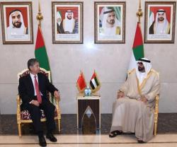 UAE Minister of State for Defense Meets Chinese Delegation