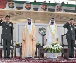 Dubai Ruler Attends Zayed II Military College Graduation