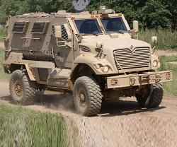 UAE Requests Resistant Ambush Protected (MRAP) Vehicles
