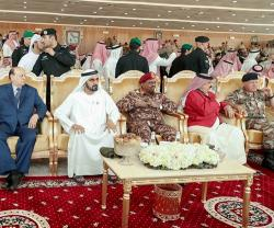 UAE VP, Abu Dhabi Crown Prince Attend Joint Gulf Shield I