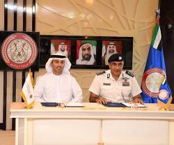 UAE Space Agency, Abu Dhabi Police Sign MoU