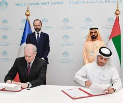 UAE Space Agency Signs MoU with France's CNES