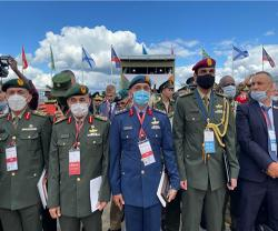 UAE delegation Attends Army-2021 Exhibition in Moscow