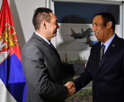 Serbian Minister of Defense Receives UAE Ambassador