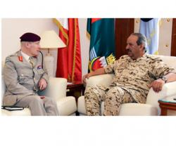 UK's Defense Senior Adviser on Middle East Visits Bahrain