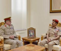 UK Chief of Defense Staff Visits Oman