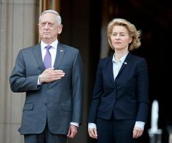 US Secretary of Defense Receives German Defense Minister