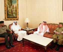 Undersecretary of Kuwait National Guard Visits Bahrain