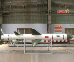 Vietnam Unveils Local-Made VCM-01 Anti-Ship Cruise Missile