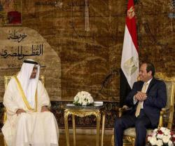Abu Dhabi Crown Prince Concludes Official Visit to Egypt