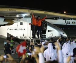 Solar Impulse 2 Returns Safely to Abu Dhabi