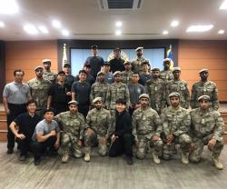 Abu Dhabi Police Conduct Joint Exercise in South Korea
