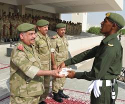Bahrain's National Guard Director Patronizes Graduation