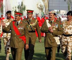Bahrain's Commander-in-Chief Pays Visit to Parliament