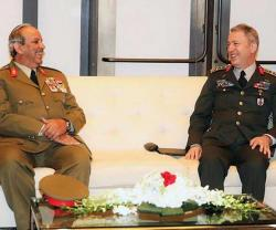 Bahrain Army Commander Meets Turkish Chief-of-Staff