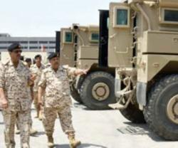 Commander-in-Chief of Bahrain Defense Force Inspects Units