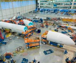 Boeing Starts Final Assembly on First 787-10 Dreamliner