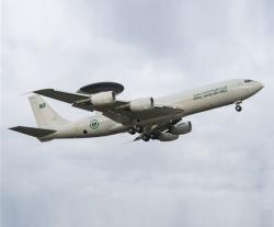 Boeing Completes Radar Upgrade for Saudi AWACS Fleet