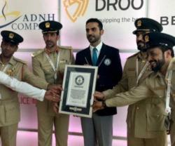 Dubai Police Enters Guinness Book of World Records