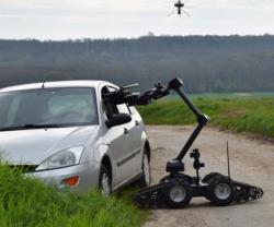 ECA Group Demos Collaborative UAV & UGV System