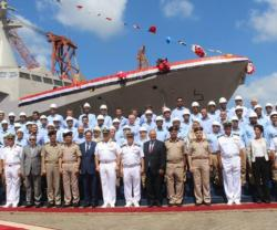 Egypt Launches First Home Made Gowind-Class Corvette