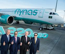 flynas First Saudi Carrier to Receive A320neo