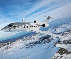 Gulfstream G500 Visits Russian Business Aviation Exhibition