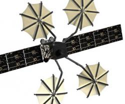 Harris Mesh Reflectors Deploy on US Navy MUOS Satellite